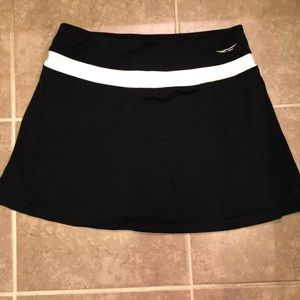 ACX Active black/white skort